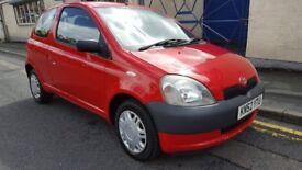 Toyota Yaris 1.4 D-4D PAS GS (red) 2002