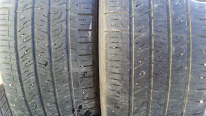 2 used all season Good Year tires 235/55R18 $80 for 2