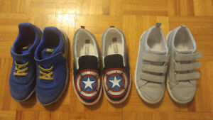 Gap and Nike shoes for boys, size US 3