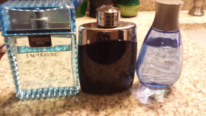 Men's colognes 100ml bottles