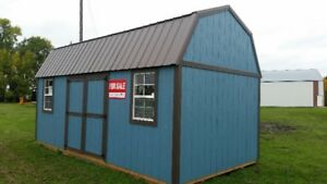 Side Lofted Barn Shed 10x20