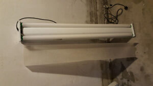 "fluorescent light fixtures 48"" T12 bulb"