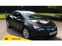 2013 Vauxhall Astra GTC 1.4T 16V Sport 3dr Manual Petrol Coupe