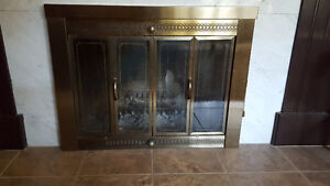 Fireplace Door for Wood Fireplace