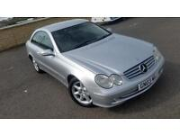 MERCEDES-BENZ CLK 240 ELEGANCE, LOW MILEAGE