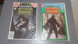 COMICS 70s, 80s- SUPERMAN, SWAMP THING ETC.