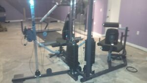 Home Gym Body-Solid G10B Bi-Angular w/ Cable Column Attachment London Ontario image 2