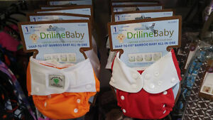 $15 CLOTH DIAPERS GET THE SECOND FOR $5 AT BAMBINI AND ROO