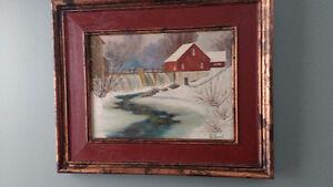 Magnifique Toile fait par l'artiste peintre Gilbert
