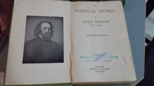The Poetical book of Alfred Tennyson