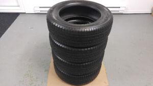 4 pneus d'été 205/60/R16 YOKOHAMA comme neuf