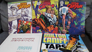 Milton Caniff's Steve Canyon books
