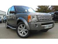2009 LAND ROVER DISCOVERY 3 TDV6 HSE JUST 34000 MILES A SIMPLY STUNNING FA