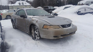 Parting out 1999-2004 Ford Mustang SN95