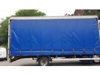 20ft curtainside body/Ex Iveco 75e16 Chassis