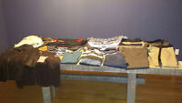 Men's Brand Name Clothing (over 55 items)
