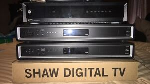 Shaw TV PVR & HG Boxes for Cable TV