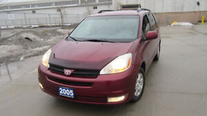 2005 Toyota Sienna, LE, Leather, 7Pass, 3 year warranty availabl