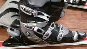 Rosignol downhill skis+ski boots,190$ for all, original price  w