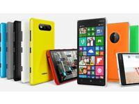 Nokia lumia 820 vs 830 8gb smartphone various lock/unlock/LCD