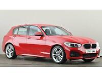 2017 BMW 1 Series 118d M Sport 5dr [Nav] Step Auto Hatchback diesel Automatic