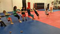 Summer Martial Arts Day Camp for Children 5 - 13 !