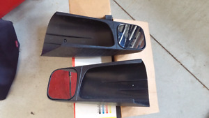 Trailer tow mirrors.