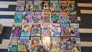90 comic books from 1977-91