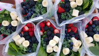 Ready to go smoothie packs
