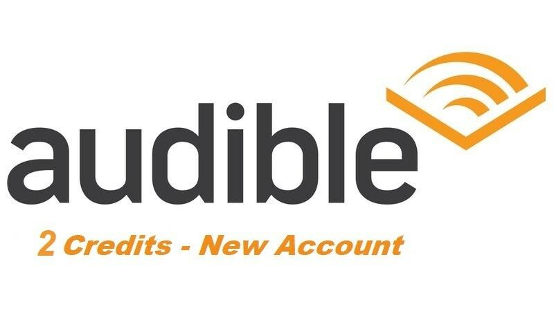 Купить New Audible Account with 2 credits
