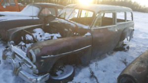 1952 Plymouth Suburban 2 Door Wagon Project