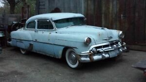 1953 CHEV COUPE FOR PARTS OR RESTORATION