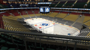 Leafs Section 318/322 greens & 103/122 AC Club reds
