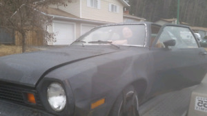 ISO 1975 Ford Pinto parts