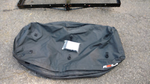 "2"" receiver cargo rack and water proof cargo bag."