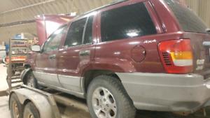 Need gone ASAP OBO 99 Jeep Grand Cherokee Laredo parts car