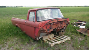 Ford mercury unibody pickup project