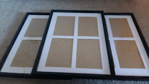 Three Picture Frame Sets