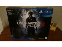Brand new still sealed PS4 with game.!