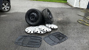 Micheline X Ice winter tires, tire covers and rubber mats