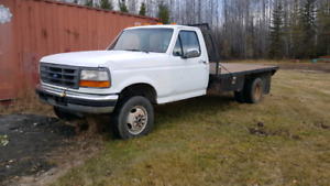 1996 Ford F350 7.3l diesel cab and chassis