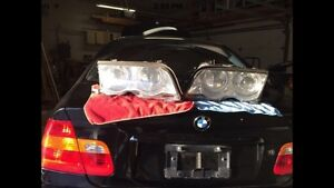 Bmw halo headlights