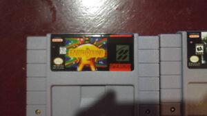 Earthbound and Chrono Trigger for Super Nintendo