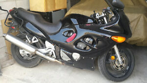 As Is/Parts Suzuki Katana with Givi Sidebags