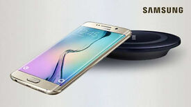 Unlocked Samsung Galaxy S6 Edge Plus Mobile Phone - Gold - Boxed