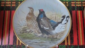 Assiette décorative « Game Birds of the World » by Basil Ede