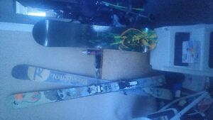 skis boots and poles and helmet make me a offer