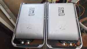 George Forman dual grilling machine