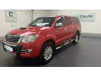 RED TOYOTA HI-LUX 3.0 INVINCIBLE 4X4 D-4D DCB 169 BHP DIESEL *from £318 p/month*