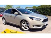 2015 Ford Focus 1.0 EcoBoost 125 Zetec 5dr Manual Petrol Hatchback